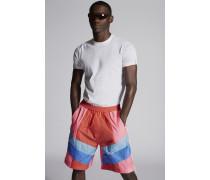Mixed Colour Nylon Shorts