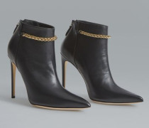 New York Night Deco Chain Ankle Boots