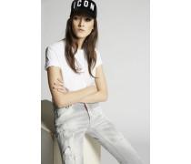 Fade To Grey Boyfriend Jeans