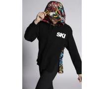Double Rib Ski Zipped Sweat Jacket