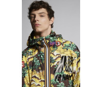 K-Way Hawaiian Rocker Windbreaker Parka