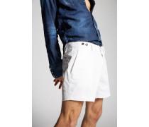 Stretch Twill Cotton Tennis Shorts