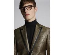Jacquard Gold Lamé Tokyo Blazer