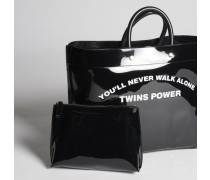 Twins Power Medium Tote Bag