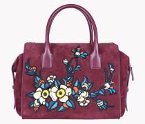 Twin Zip Small Handbag
