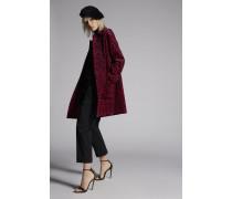 Leopart Velvet Maxi Coat