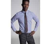 Cotton 70 's Button Down Slim Hemd