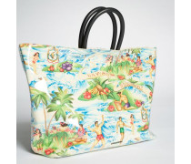 Hawaiian Rocker Crystal Tote Bag