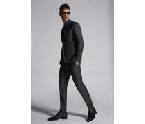 Stripe Wool Paris Suit