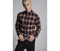 Cotton Flannel Botton Down Hemd
