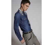 Fashion Western Denim Hemd