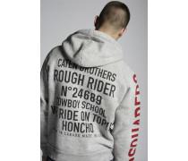 Dsquared2 Zipped Hooded Sweatshirt