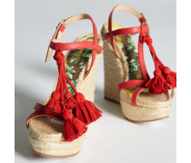 Hawaiian Rocker Hula Girl Espadrillas