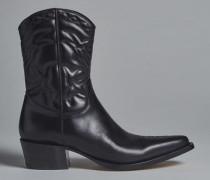 Arizona Embossed-Leather Boots