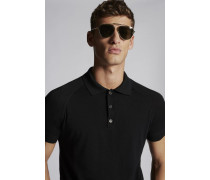 Wool & Cashemere Polo Pullover