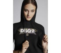 DSQ2 Bandana Hooded Sweatshirt
