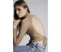 Backless Wool Pollover