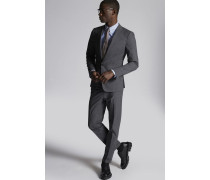 Cotton Check London Suit