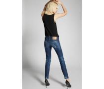 Dark Easy Medium Waist Skinny Jeans