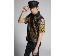 Leopard Bowler Hemd