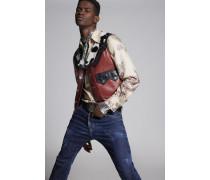 Calf Leather Vest