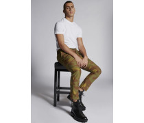 Cotton Camouflage Sexy Cargo Pants