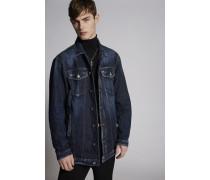 New Dark Semplice Over Denim Jacket
