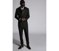 Silk Wool 80's D.B. Suit