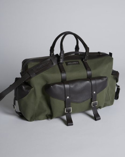 Dsquared2 Herren Bad Scout Camping Scout Duffle Bag Billig Zh5R6
