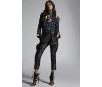 Calf Leather Jodhpur Cowgirl Pants