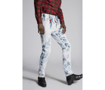 Shreaded Bleach Cool Guy Jeans
