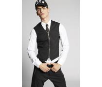 Chic Stretch Wool Vest