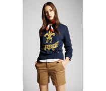 Stretch Twill Cotton Hockney Shorts