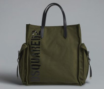 Military Punk Ryan Shopping Bag
