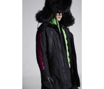 Dsquared2 Nylon Ski Parka With Puffer Jacket