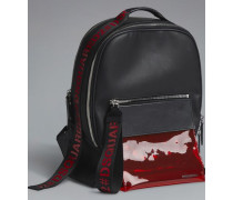 Red & Black Punk Backpack