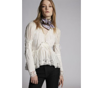 Cotton Voile Cosette Long Sleeved Top