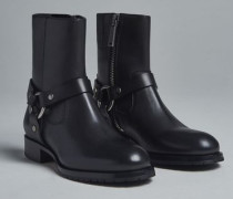 50's Rock Gibson Ankle Boots