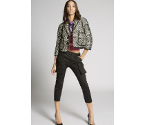 Cotton Jacquard Jacket