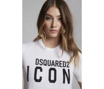 Kurzärmliges T-Shirt Weiß