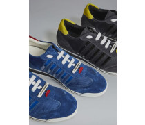 Red & Black Punk New Runner Sneakers