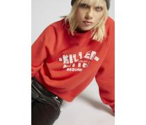 Killer Kitten Long Cool Sweatshirt