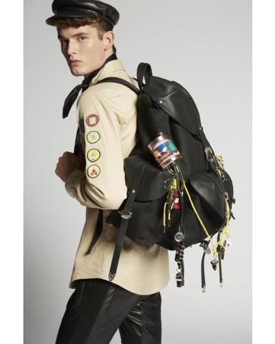 Wie Viel Zu Verkaufen Laden Verkauf Dsquared2 Herren Hawaiian Rocker Gothika Backpack Angebote Online Billig Vermarktbare HF3ur