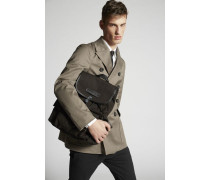 Stretch Twill Cotton Peacoat
