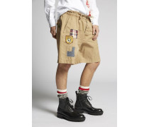 Scout Patch Cotton Chino Shorts