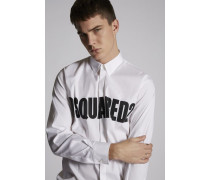 Dsquared2 Stretch Poplin Relax Dan Hemd