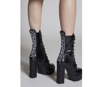 Bronx Hip Hop Dsquared2 Tape Ankle Boots