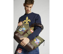 Bad Scout Military Trimmed Tote Bag