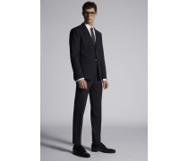 Tropical Weight Stretch Worsted Wool Manchester Suit