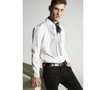 Stretch Poplin Regular Tux Hemd